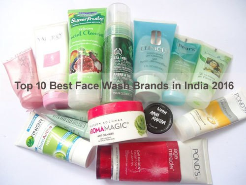 Face Wash Brands in India