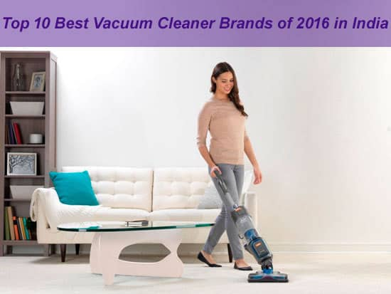 Best Vacuum Cleaner Brands in India