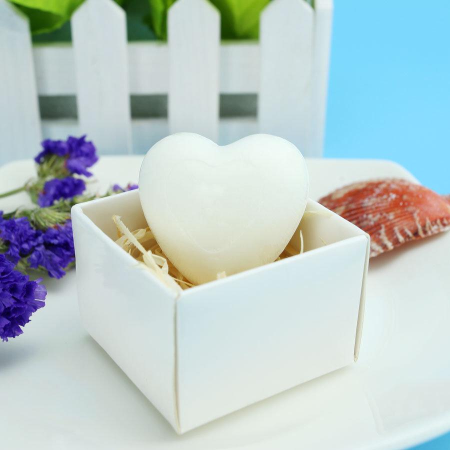 heart shape soap bar