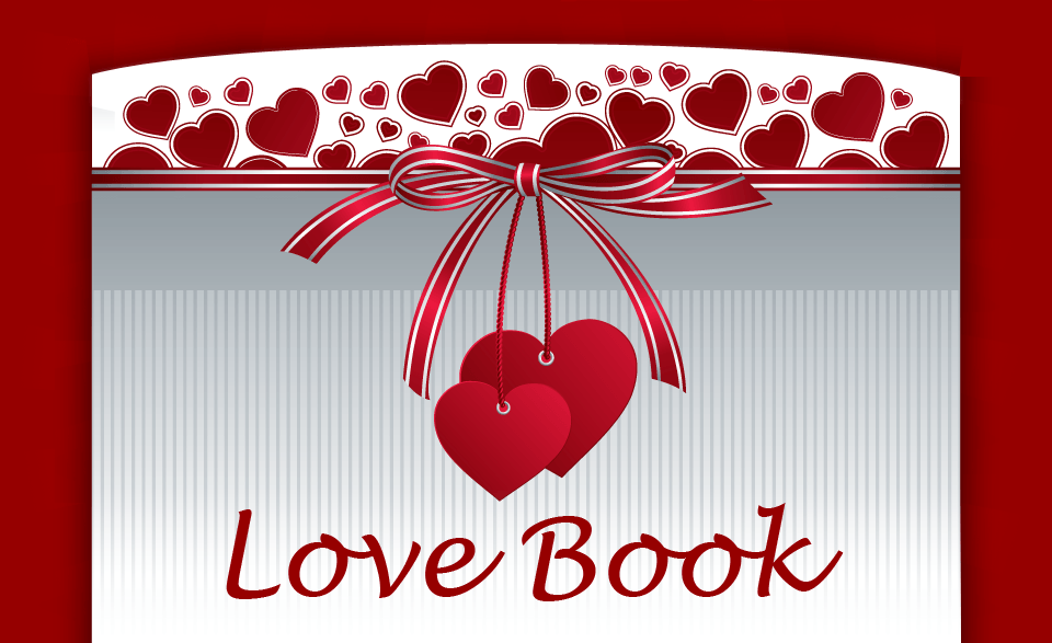 valentines love book