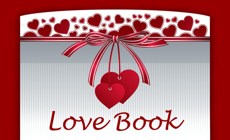 valentines love book