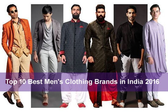 ab52c3c7 Top 10 Best Men's Clothing Brands in India 2018 - Most Popular ...