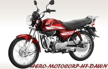 HERO MOTOCORP HF DAWN