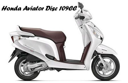 Honda Aviator Disc 109CC