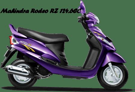 Mahindra Rodeo RZ 124.6CC