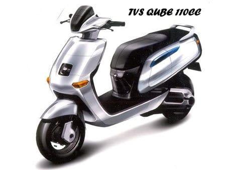 TVS QUBE 110CC