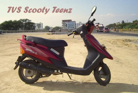TVS Scooty Teenz
