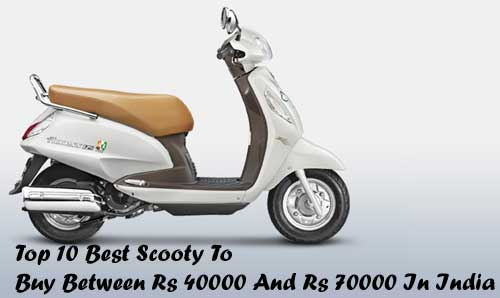 Best Scooty Price in India