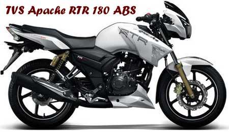 TVS Apache RTR 180 ABS