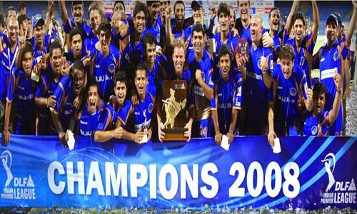 IPL Season 1 winner