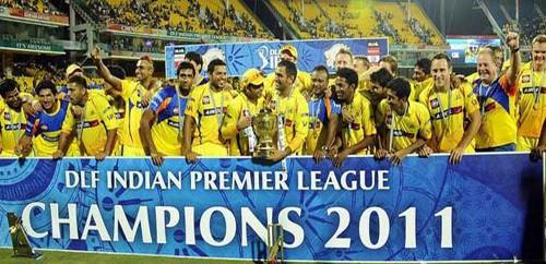 IPL Season 4 winner