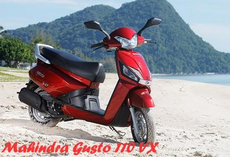 Mahindra Gusto 110 VX