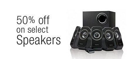 offer on speakers