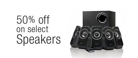 offer on speakers