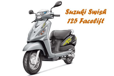 Suzuki Swish 125 Facelift