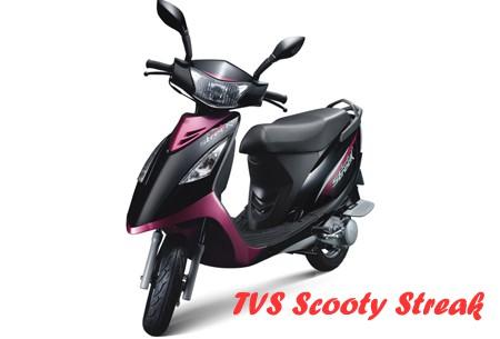 TVS Scooty Streak