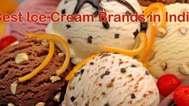 best ice cream brands in india