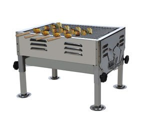 Fabrilla Stainless Steel Barbecue (ABESD1182)