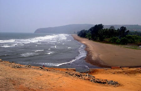Harihareshwar Beach, Maharashtra