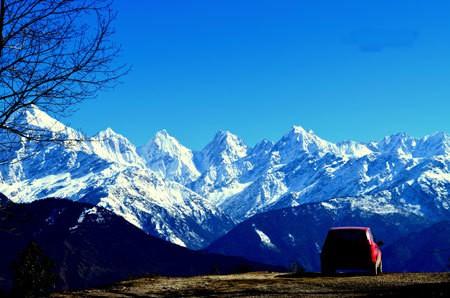 Munsiyari- place to start for Panchachuli