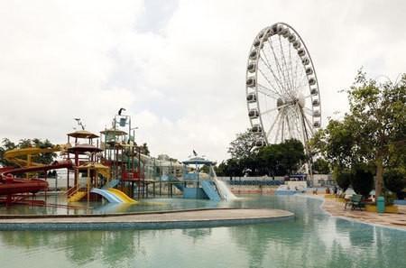 Delhi Eye/Water Park/Rides