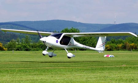 Micro Light flying