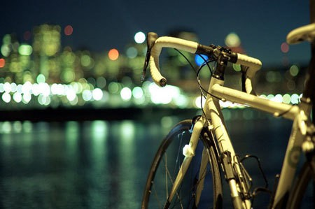 Midnight Cycling in the City