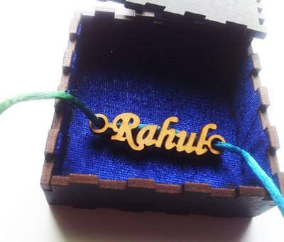 Name Engraved Rakhi