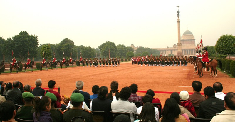 Rashtrapati Bhawan (Mughal Garden/Changing of Guards)