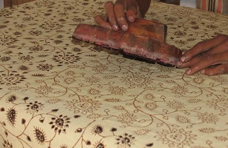 Block Printing Factory Tour