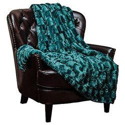 Chanasya Super Soft Fuzzy Fur Blanket