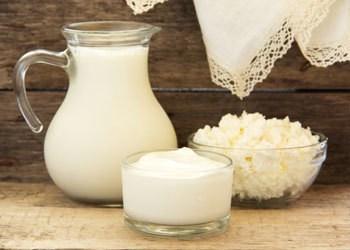 Whole fat Milk and Cream
