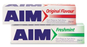 Aim toothpaste