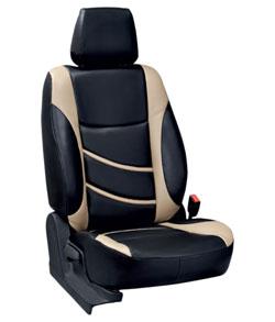 Elaxa beige Car Seat Covers