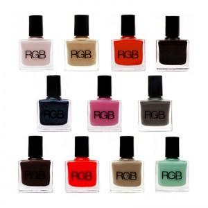 RGB nail polish