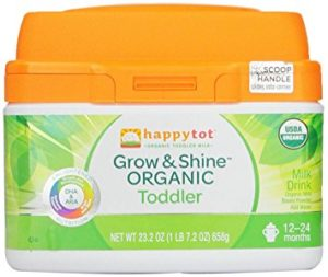 Happy to grow and shine Toddler formula