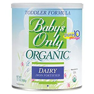 Baby's only organic dairy formula