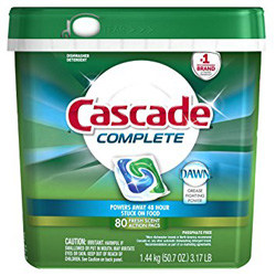 Cascade Complete All-in-1 ActionPacs Dishwasher Detergent