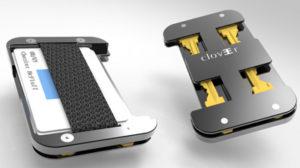 Clover Aluminum Wallet