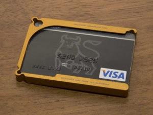 Decadent Minimalist aluminum wallet