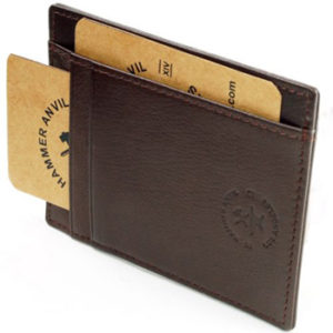 Hammer Anvil front pocket wallet card case