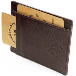 Hammer Anvil front pocket wallet card case