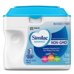 Similac advance Non- GMO infant formula