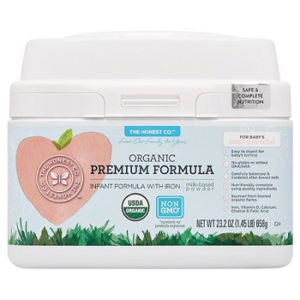 The honest company organic premium infant formula