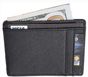 Travelambo RFID front pocket wallet