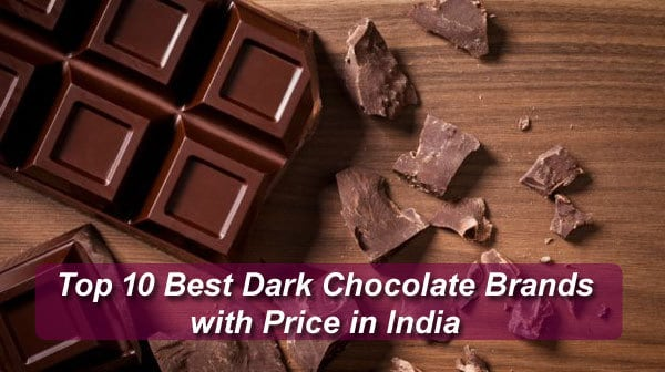 Best Dark Chocolate in India
