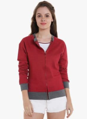 Campus Sutra Women Sweatshirt