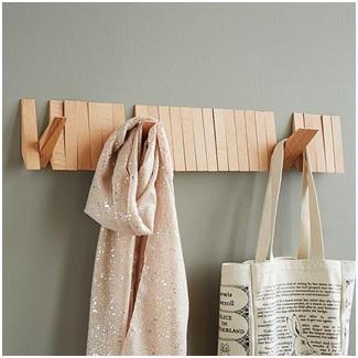 A flip rack