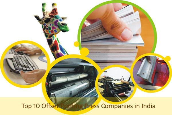 Best Offset Printing Press Companies in India