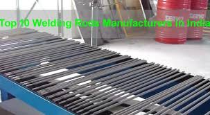 Best Welding Rods Manufacturers Companies in India
